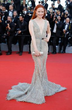 Barbara Meier - The Dreamiest Dresses on the 2017 Cannes Red Carpet - Photos