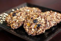 I'd very loosely call these treats cookies. Why? The recipe is basically two ingredients, oats and bananas, plus a few add-ins. Also, it's pretty healthy. Probably with my add-ins they&…