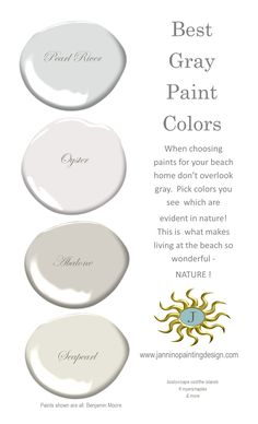 just a small selection of some of our favorite gray paint colors - and, honey, there are hundreds more.