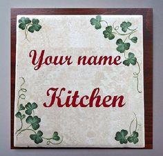 Kitchen Trivet - Irish Shamrock design Hot plate - st patricks day gift on Etsy, $14.99