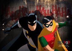 Batman and Robin by *DESPOP on deviantART