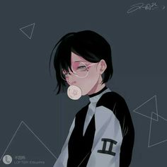 Illustration saved by 「❀hayati」 Anime W, Fanarts Anime, Anime Guys, Anime Characters, Aesthetic Anime, Aesthetic Art, Character Illustration, Digital Illustration, Matching Profile Pictures