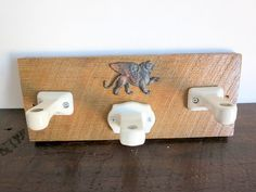 Rustic Farmhouse Wall mounted Candle holders by EastonandBelt