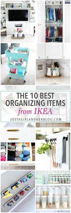 Home Organization- My Top 10 Favorite Organizing Items from IKEA, kitchen organization, craft room organization, office organization, organized, declutter, decluttering, minimalist, minimalism, Best Organization Items from IKEA