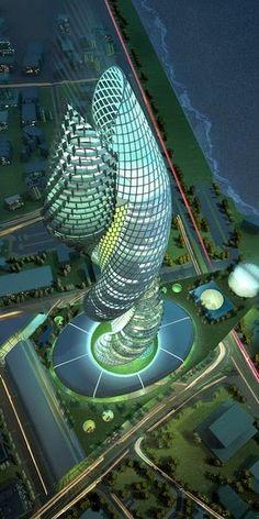 Amazing Skyscrapers -The Kuwait Cobra Tower