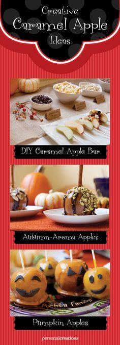 Yum! Creative Caramel Apples!
