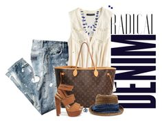"""""""Denim"""" by sherry7411 ❤ liked on Polyvore"""