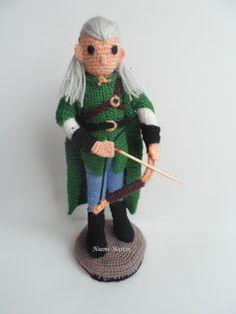 El blog de Noe - Aguja, lana y tijeras: Legolas amigurumi