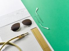 VO | Valérie Oualid : Agent d'illustrateurs | Alexis Facca | Set design & Paper - Ray-Ban