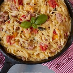 Salsiccia One Pot Pasta