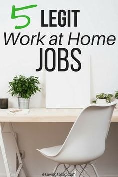 Are you looking for legit Work At Home Jobs? I created my top 5 Work From Home jobs that can even be turned into businesses.
