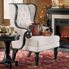 Wingback Chair, Orleans - $299.99 through the country door