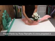 Wrapping one plant - YouTube