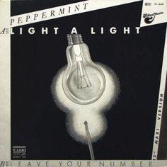 Pepper Mint - Light A Light GER 1985 Maxi vg++