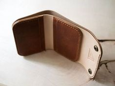 Handmade Leather Wallet Mens Leather Wallet Womens Leather