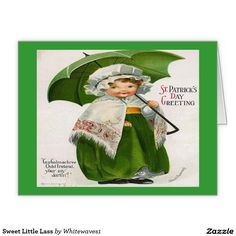 Sweet Little Lass Stationery Note Card http://www.zazzle.com/sweet_little_lass_stationery_note_card-137833745343983817 http://www.zazzle.com/whitewaves1