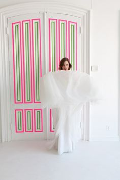 Neon wedding inspiration via Brooklyn Bride