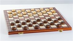 wooden checkers with interior storage Board Game Online, Old Board Games, Online Games, Checkers Board Game, Play Checkers, Played Yourself, Game Pieces, Games To Play