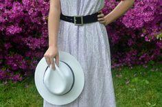 Boho Belted Maxi Dress #style #spring