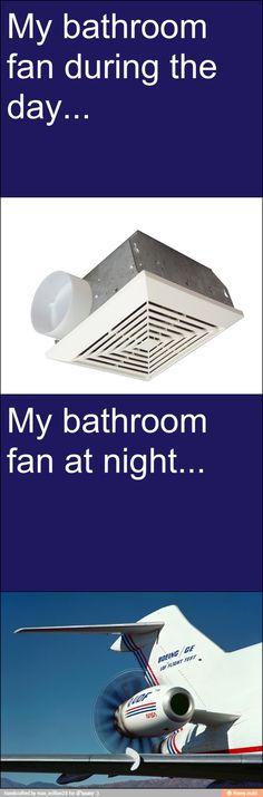 Bathroom fan / iFunny :)