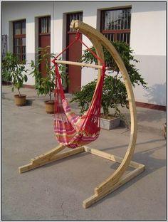 Hammock Chair Stand Wood