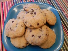Easy Skinny Bisquick Chocolate Chip Cookies
