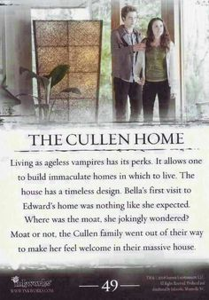 #TwilightSaga #Twilight - The Cullen Home #49