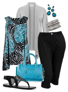 """""""Spring Time - Plus Size"""" by kerimcd ❤ liked on Polyvore featuring Avenue, Old Navy, Emperia, Steve Madden, Ippolita, Lane Bryant, women's clothing, women, female and woman"""