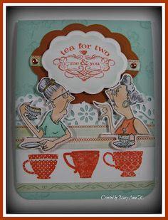 Gossip Club (T1522) card by Mary Anne K.