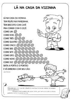 Rosangela.Aprendizagem: Parlendas e Cantigas Matemáticas