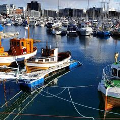 Spring time in the #Arctic #Bodø #marina @visitbodo @northernnorway #norway : @harald.hansen.37