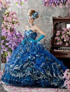stella de libero dresses 2014 | Stella de Libero, gown, couture, wedding, bridal, dress, fantasy ...