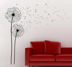 Room Stickers - Elegant and classy floral design to decorate your home.
