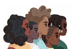 Critical Race An Introduction In order to engage in critical thought, we must engage in discursive analysis of different methodologies. These discourses shape the … Character Illustration, Digital Illustration, Family Illustration, Animal Illustrations, Woman Illustration, Illustrations Posters, Arte Black, Poster S, Character Design Inspiration