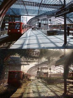 Post-Apocalyptic landmarks | Naughty Dog - Arch2O.com