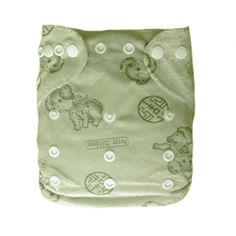 1 BABY MINKY  AI2 PRINT RE-USABLE CLOTH DIAPER NAPPY+1 INSER D11