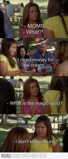 Whats the magic word?