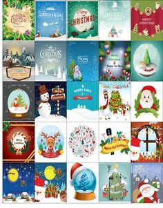 Free Printable-25 Christmas Stickers for your Happy Planner