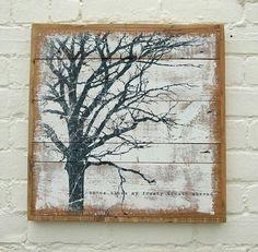pallet tree painting