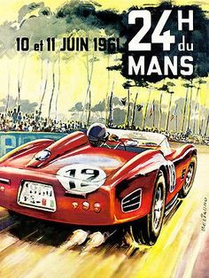 1961 24 Hours of Le Mans Race - Promotional Advert… - US Trailer can rent used trailers in any condition to or from you. Contact USTrailer and let us rent your trailer. Click to http://USTrailer.com or Call 816-795-8484