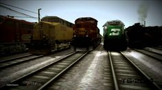 Nice Video Train Simulator Without Borders HD