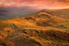 The Great Ridge Sunrise II - Mam Tor, Derbyshire