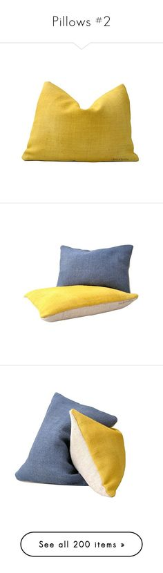 """Pillows #2"" by sally-simpson ❤ liked on Polyvore featuring home, home decor, throw pillows, handcrafted home decor, handmade home decor, yellow throw pillows, yellow home accessories, yellow toss pillows, yellow home decor and handmade throw pillows"