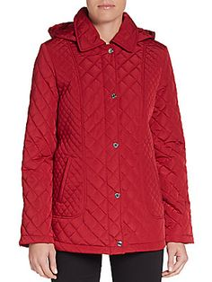Calvin Klein - Quilted Hooded Jacket $62.99