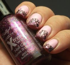 The Clockwise Nail PolishSunday Stamping Challenge: French Manicure
