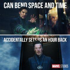 Thanks, Strange. We all needed an extra hour of sleep. #DoctorStrange