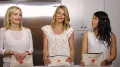 Watch Lauren, Carolyn, and Joanna put together a perfect Food First Aid Kit in this video  - even sneak a peek at a couple bloopers at the end!