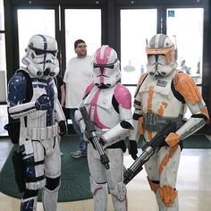 Cloning around at @starwarscelebration. #StarWars #Fans