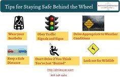 Great #Safety Tips When You're Behind the #Wheel