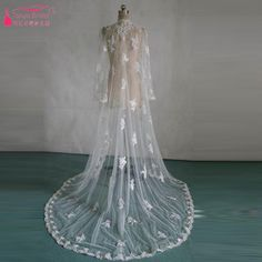 Find More Wedding Jackets / Wrap Information about wedding accessories Long Wedding Bolero Lace Long sleeve elegant Bridal Jacket Ivory wedding shawl  vestidos de noite Z525,High Quality shawl fringe,China shawl for evening dress Suppliers, Cheap shawl scarf from Tanya Bridal Store on Aliexpress.com